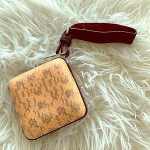 Zara small wristlet - rare find